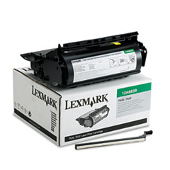 LEX12A6839 - Lexmark 12A6839 High-Yield Toner, 20000 Page-Yield, Black