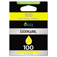 LEX14N0902 - Lexmark 14N0902 (100) Ink, 200 Page-Yield, Yellow