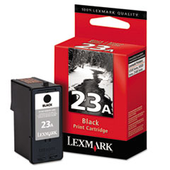 LEX18C1623 - Lexmark 18C1623 Ink, 215 Page-Yield, Black