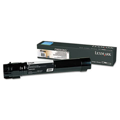 LEXC950X2KG - Lexmark C950X2KG High-Yield Toner, Black
