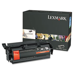 LEXT654X21A - Lexmark T654X21A Extra High-Yield Toner, 36000 Page-Yield, Black