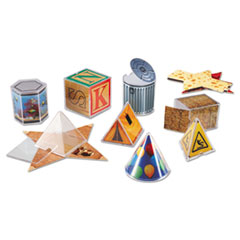LRNLER4356 - Learning Resources® Real World Geometric Shapes