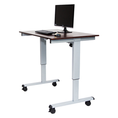 LUXSTANDE-48-AG-DW - LuxorElectric Standing Desk