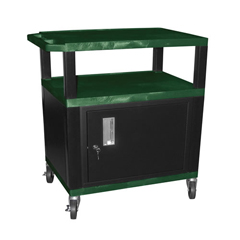 LUXWT42HGC2E-B - LuxorTuffy Cart with Cabinet
