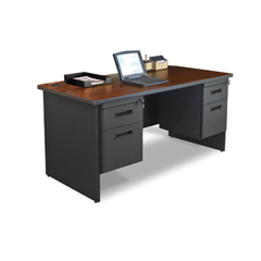 MLGPDR6630DPDTMA - Marvel GroupPronto® Double Pedestal Desk