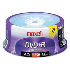 MAX639011 - Maxell® DVD+R High-Speed Recordable Disc