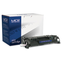 MCR05XM - MICR Print Solutions Compatible with CE505XM High-Yield MICR Toner, 6,000 Page-Yield, Black