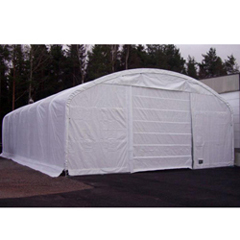 MDMFP406018RCWH - Rhino ShelterCover for Domed Truss Building 40x60x18