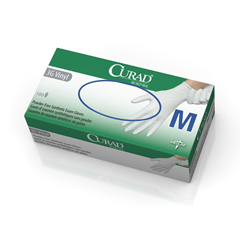 MEDCUR8235 - CuradPowder-Free Latex-Free 3G Vinyl Exam Gloves