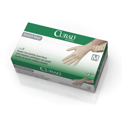 MEDCUR9225 - CuradCURAD Stretch Vinyl Exam Gloves