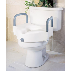 MEDG30270A - GuardianSeat, Toilet, Raised, Locking, with Arms