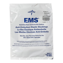 MEDMDS160648 - MedlineEMS Knee Length Anti-Embolism Stockings