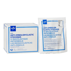 MEDMDS160668 - MedlineEMS Knee Length Anti-Embolism Stockings