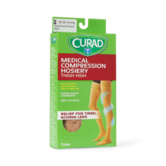 MEDMDS1708BTH - CuradCURAD Thigh-High Compression Hosiery