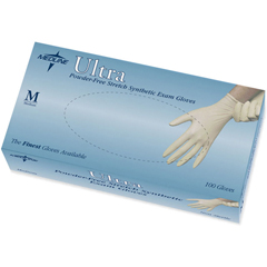 MEDMDS193075H - MedlineUltra Stretch Synthetic Exam Gloves