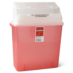 MEDMDS705203H - MedlineBiohazard Patient Room Sharps Container