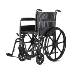 MEDMDS806150EV - MedlineK2 Basic Wheelchairs
