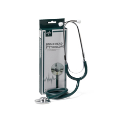 MEDMDS926107 - MedlineStethoscope, Single Head, Hunter Green