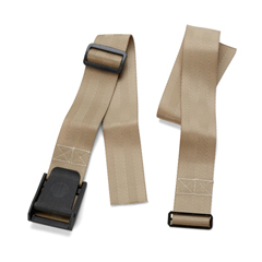 MEDMDT825091 - MedlineRestraint, Wheelchair Belt, Nylon, with Buckle