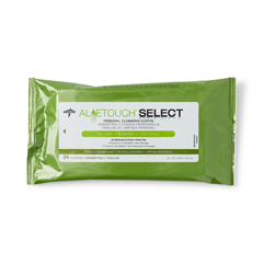 MEDMSC095280 - MedlineAloetouch SELECT Premium Spunlace Personal Cleansing Wipes