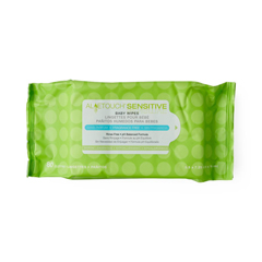 MEDMSC263153 - MedlineAloetouch Sensitive Personal Cleansing Baby Wipes