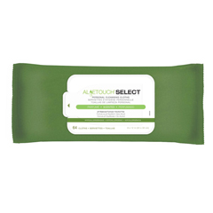 MEDMSC263656 - MedlineAloetouch SELECT Premium Spunlace Personal Cleansing Wipes
