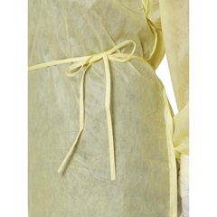 MEDNON27SMS2XL - MedlineMedium Weight Multi-Ply Fluid Resistant Isolation Gown