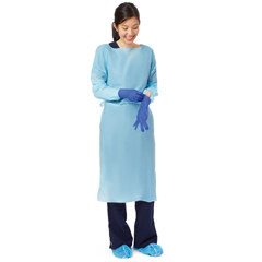 MEDNONTH200 - MedlineThumbs Up Polyethylene Isolation Gown