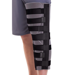 MEDORT2420019 - MedlineCut-Away Knee Immobilizer
