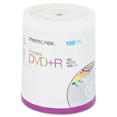 MEM05623 - Memorex® DVD+R Printable Recordable Disc