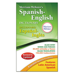 MER824 - Merriam Webster Spanish/English Dictionary