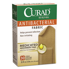 MIICUR47255 - Curad® Flex Fabric Antibacterial Bandages