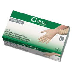 MIICUR9226 - Curad® Stretch-Vinyl Exam Gloves