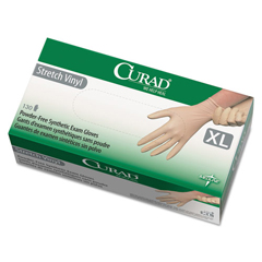 MIICUR9227 - Curad® Stretch-Vinyl Exam Gloves
