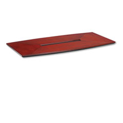 MLNCT72CRY - Mayline® Corsica™ Series Boat Shape Conference Table Top