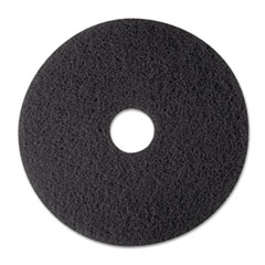 MMM08374 - 3M Black Stripper Floor Pads 7200