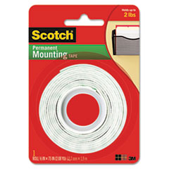 MMM110 - Scotch® Permanent High-Density Foam Mounting Tape