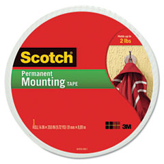 MMM110LONG - Scotch® Permanent High-Density Foam Mounting Tape
