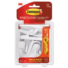 MMM17001MPES - Command™ General Purpose Hooks