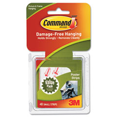 MMM17024VP - Command™ Adhesive Poster Strips