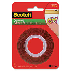 MMM4010 - Scotch® Clear Mounting Tape
