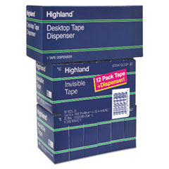MMM6200K12DVP - Highland™ Invisible Tape