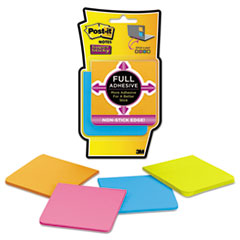 MMMF3304SSAU - Post-it® Notes Super Sticky Full Adhesive Notes