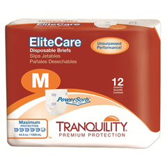 MON12243104 - PBETranquility® EliteCare™ Disposable Briefs