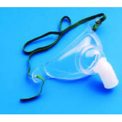 MON12273900 - CarefusionOxygen Mask AirLife Tracheostomy Large Adjustable Neck Strap