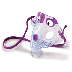 MON12663900 - CarefusionAerosol Mask AirLife Under the Chin One Size Fits Most Adjustable Elastic Head Strap