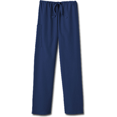 MON20378500 - White SwanFundamentals Unisex Drawstring Scrub Pants, Navy, Small