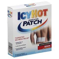MON14682700 - ChattemPain Reliever Icy Hot® Patch 5 per Box Extra Strength, 5EA/BX