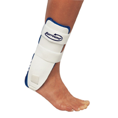 MON17173000 - DJOAnkle Support PROCARE Surround Medium Hook and Loop Closure Left Ankle
