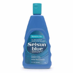 MON17321800 - ChattemDandruff Shampoo Selsun Blue® 11 oz. Flip Top Bottle